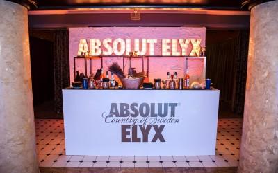 ABSOLUT ELYX baras renginyje