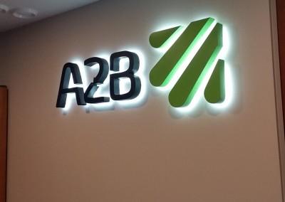 A2B sviecianti iskaba
