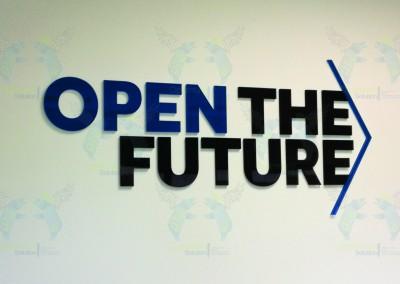 Open The Future logo nuoroda