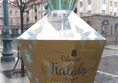Vilniaus Kaledu Kvapas Douglas reklamine dovana