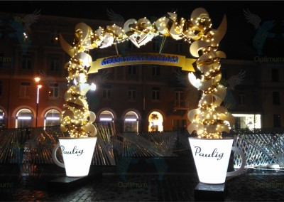 Paulig Kaledu miestelio vartai