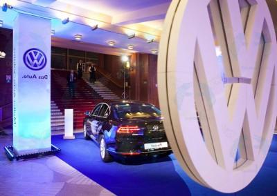 Volkswagen reklaminis stendas renginyje