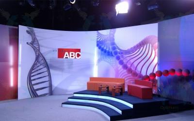 Sveikatos ABC studijos scenografija